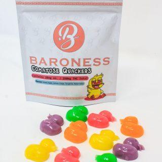 Baroness – Comatose Quackers 250mg THC