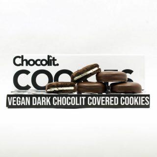 400mg - Chocolit - VEGAN Dark Cookies