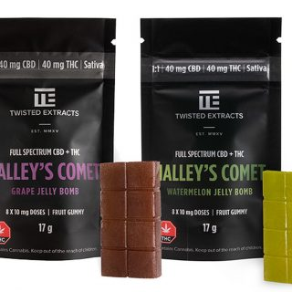 Twisted Extracts Full Spectrum Jelly Bomb | Halley's Comet 1:1 Sativa