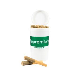 Supremium Shorties – Hybrid PreRolls – Green Dream – NEW – 0.3g per x 10 qty