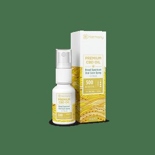 Spray CBD Citrus 15ml Broad Spectrum - Harmony CBD