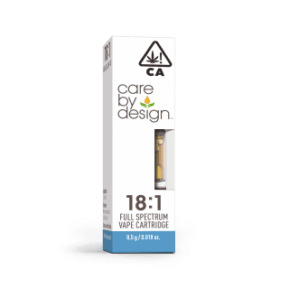 Care By Design 18:1 CBD:THC Vape Cartridges UK