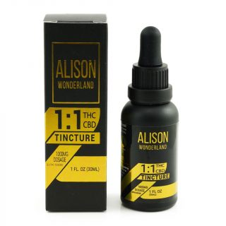 Alison Wonderland UK 1000mg 1:1 THC/CBD