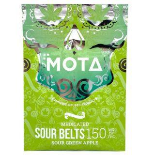Buy Sour belts – Mota Edibles UK – 150mg THC