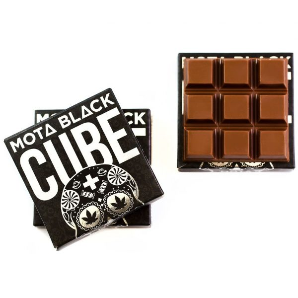 Buy MOTA - Black Chocolate Cubes Online