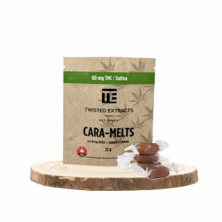 Cara Melts By Twisted Extracts | Sativa 80mg THC UK