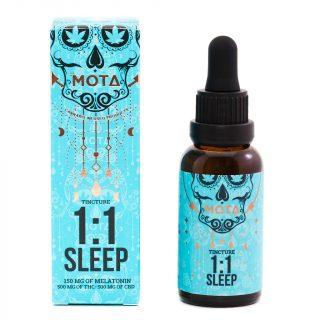Buy MOTA - THC + CBD 1:1 Sleep Tincture UK